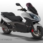 Kymco Xciting 500 iR ABS Silber Metallic
